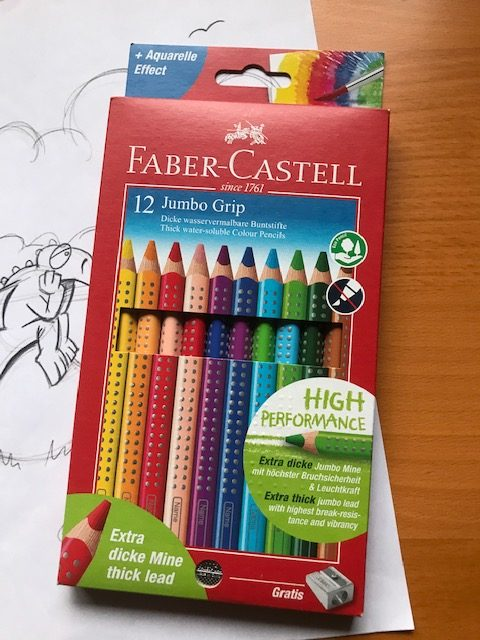 Jumbo Buntstifte Faber Castell